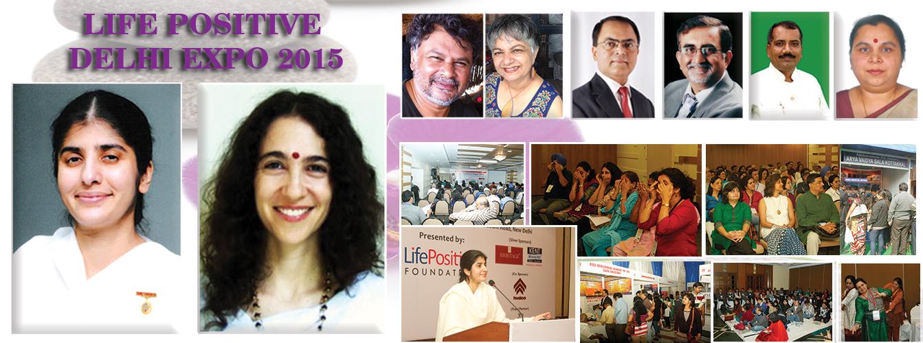 Stalls at Life Positive Expo – 2015 Delhi