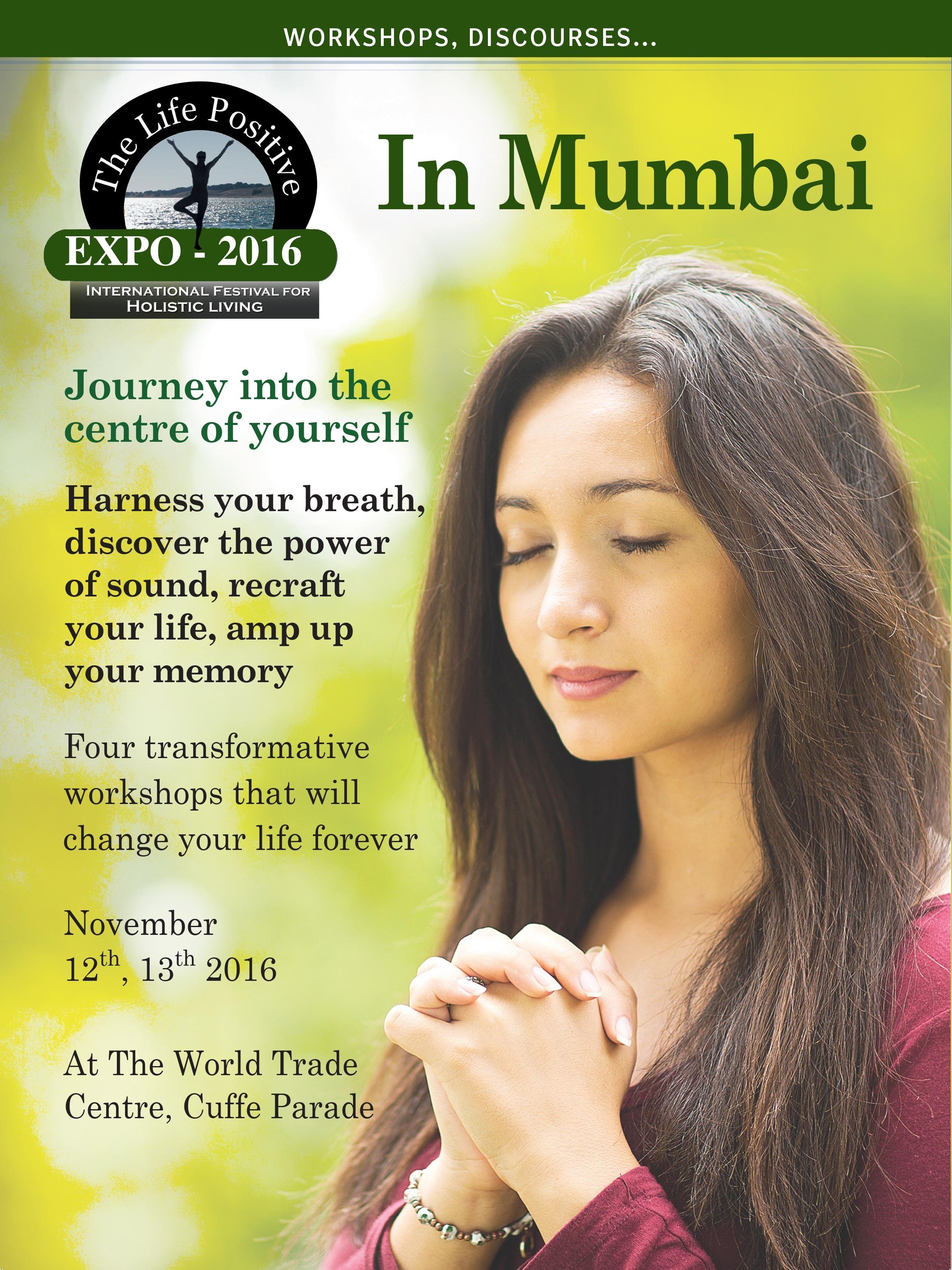 Life Positive Expo in Mumbai